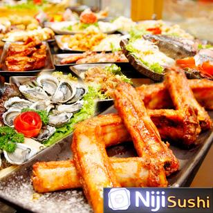 Buffet Lẩu Nướng Niji Sushi