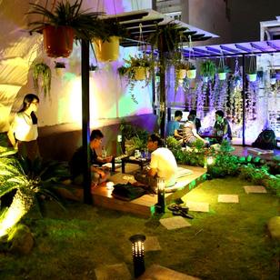 Shin Café - Không gian xanh mát và lãng mạn tại Hồ Chí Minh