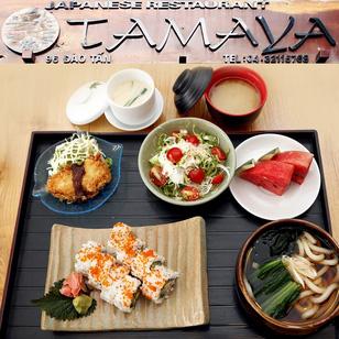 Set ăn món ngon Nhật Bản 01 người