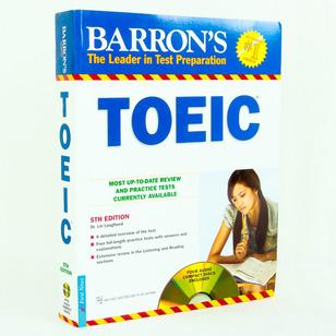 Luyện thi Toeic giáo trình Barron kèm 4 CD