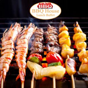 Buffet trưa BBQ House - Phong cách Singapore