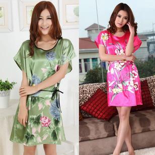 Đầm Ngủ Phi Lụa Kiểu Nhật