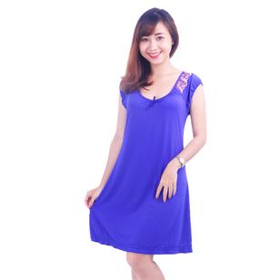 Đầm Ngủ Tay Phối Ren Winny