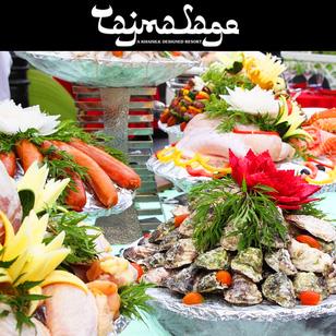 KhaiSilk-Tajmasago Buffet BBQ Tối Free Rượu Vang