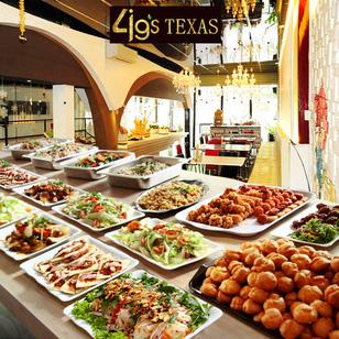 Buffet trưa phong cách ẩm thực Á - Âu