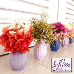 Hoa khô nghệ thuật cho phái đẹp tại Hồ Chí Minh