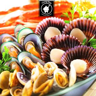 Buffet ốc, hải sản và xiên que