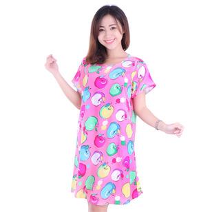 Đầm Ngủ Hoạt Hình Vải Cotton
