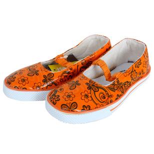 Giày búp bê hoa cho bé gái
