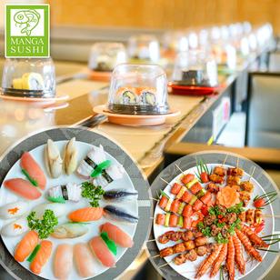 Gala Buffet băng chuyền - Sushi và Món nướng