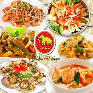 Buffet tối kiểu Thái - Nhà hàng Con Voi Vàng
