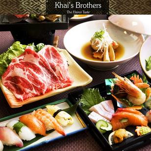 KhaiSilk - Brothers Buffet BBQ Thịt Nướng & Sushi