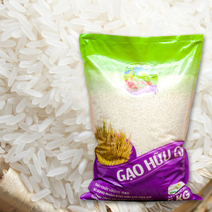Gạo Hữu Cơ Thơm Mỹ 5Kg