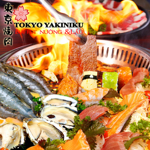 Buffet nướng lẩu Nhật Bản Tokyo Yakiniku