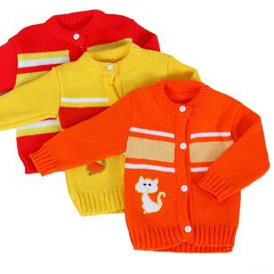 3 áo len mềm mịn cho trẻ sơ sinh