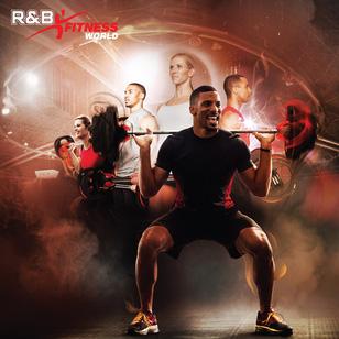 R&B Fitnessword - Thẻ Tập Trọn Gói Tất Cả Dịch Vụ