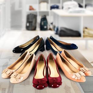 Giày nữ đế vuông xinh xắn cho bạn gái