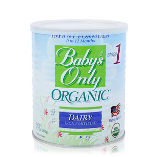 Sữa Baby only organic Infrant 360gr