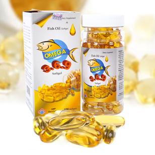 Omega Softgel cho cơ thể phát triển toàn diện