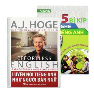 Nghe Nói Thành Thạo Với 2 Cuốn Sách Học Tiếng Anh