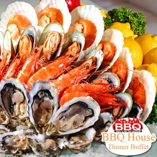 Buffet tối nướng & lẩu hải sản - Nhà hàng BBQ House