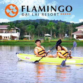 Thỏa thích vui chơi và ăn trưa cao cấp tại Flamingo Đại Lải resort
