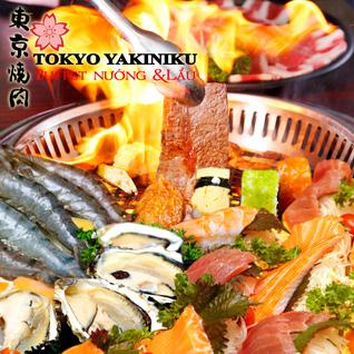Bufet  lẩu nướng Tokyo Yakiniku Nhật Bản
