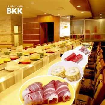 buffet lẩu băng chuyền BKK