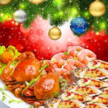 NamPhan  Buffet Hải Sản Đón Giáng Sinh& Năm Mới