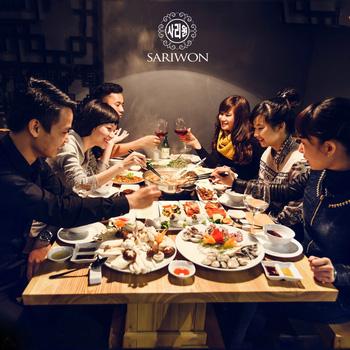 Buffet Nướng Lẩu Hàn Quốc SARIWON-Royal City
