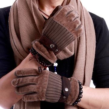 Găng tay len lông lót nỉ ấm ấp cho nam