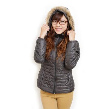Áo phao mũ lông cho ngày đông luôn ấm áp