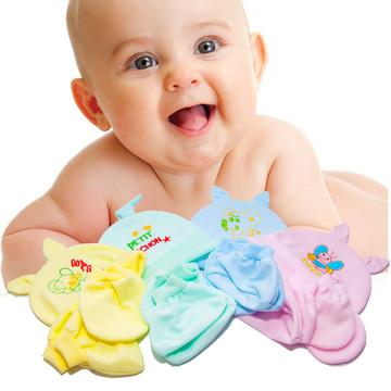 Combo 4 bộ nón + bao tay + bao chân cho bé sơ sinh