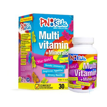 Kẹo dẻo Multi Vitamin Pnkid For Girl