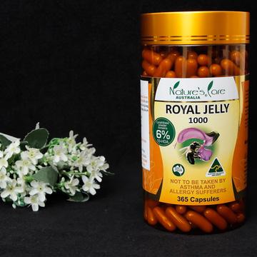 Sữa ong chúa NATURE'S CARE hàm lượng 6% HDA