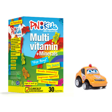 Kẹo dẻo PN:Kids For Boys - Multivitamin & Minerals