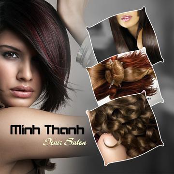 Uốn/ Nhuộm/ Ép Minh Thanh Hair Salon Cây Kéo Vàng