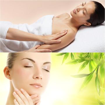 Lựa chọn massage mặt hoặc body