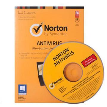 Phần mềm diệt Virus NORTON ANTIVIRUS 2013