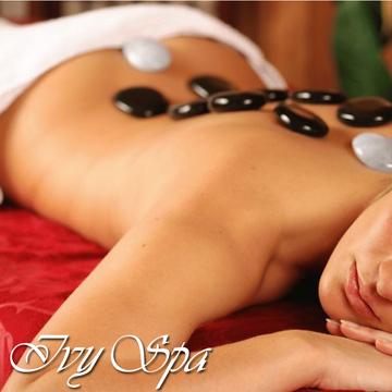 Massage body đá nóng hoặc Tẩy da chết toàn thân