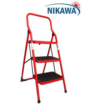Thang ghế siêu nhẹ Nikawa 3 bậc nhôm thép không gỉ