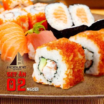 Món ngon Nhật Bản tại nhà hàng Kobune Sushi