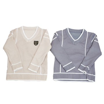Combo 2 áo len cổ tim cho bé trai