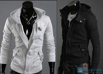 Áo khoác nỉ Hàn Quốc phong cách cho bạn nam