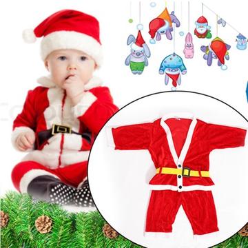 Bộ quần áo Ông già Noel đáng yêu cho bé