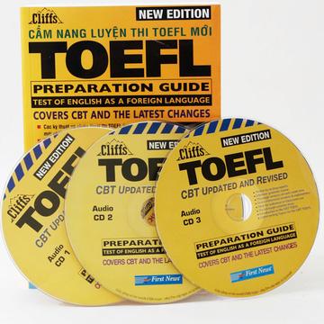 Cẩm nang luyện thi Toefl (kèm 3 đĩa CD)