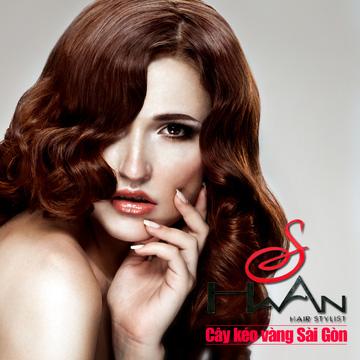 Gói làm tóc đẳng cấp Viện tóc Hà An Cây kéo vàng Sài Gòn