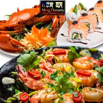 Khaisilk-Quảng Đông Buffet tối 200 món free rượu-bia&Cinema