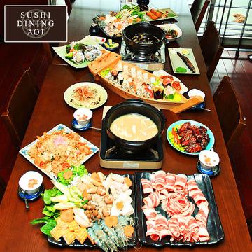 Buffet gọi món - 60 món tại Sushi Dining AOI