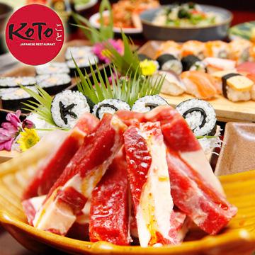Buffet Cao Cấp Nướng Và Lẩu Nhật Bản Tại NH Koto BBQ Sushi